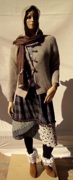 Lagenlook,Bekleidung,Mode,Frauen