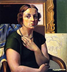 Madame Lhote Artwork By André Lhote Oil Painting & Art Prints On Canvas For Sale Bordeaux, Contemporary History, Cubism Art, Georges Braque, French Artists, Madame, Canvas Art Prints, Female Art, Artwork