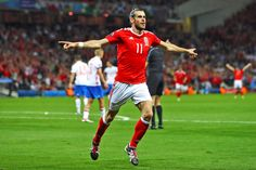 Gareth Bale of the Wales National Team