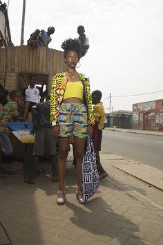 YEVU Street Style. #Africanfashion #AfricanClothing #Africanprints #Ethnicprints #Africangirls #africanTradition #BeautifulAfricanGirls #AfricanStyle #AfricanBeads #Gele #Kente #Ankara #Nigerianfashion #Ghanaianfashion #Kenyanfashion #Burundifashion #senegalesefashion #Swahilifashion DK