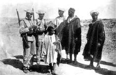 Guardia Civil en Melilla en 1893.