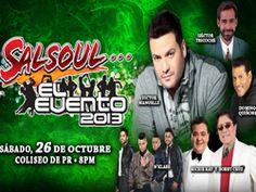 Ticketpop Salsoul El Evento el 26 de octubre en el Coliseo de Puerto Rico
