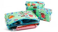 Chic-a Double Zipper Pouches best storage knitting projects paperwork documents