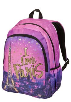 I Love Paris Backpack (original price,  $29.50 ) available at #Justice