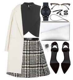 """Untitled #551"" by ssm1562 ❤ liked on Polyvore featuring Marni, Jill Stuart, Miss Selfridge, DKNY, Alexander Wang, Movado, Ray-Ban, Stila, Eva Fehren and women's clothing"