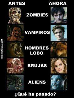 Los monstruos del cine