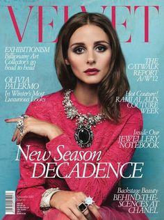 Olivia Palermo for Velvet September 2012 Issue by Luc Coiffait