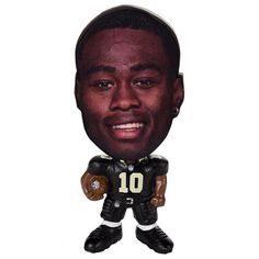 Forever Collectibles New Orleans Saints Brandin Cooks Figurine, Multicolor
