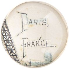 JOHN DERIAN COMPANY, INC Paris Paperweight ($60) ❤ liked on Polyvore