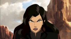 What I love about Asami is that she's equally as kickbutt and interesting a character as Korra. Even though she grew up rich and entitled and whatnot, she's amazingly kind and selfless. I was glad to see more of her in season 3.