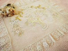lace pillow cover