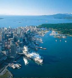 This is the view I got as my plane arrived in Vancouver. Absolutely beautiful.