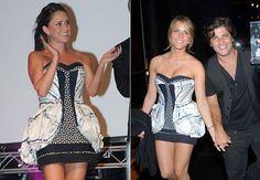Fernanda Vasconcellos dia 24/11. Giovanna Ewbank dia 01/12. Vestido duvidoso… Foto: reprodução
