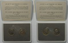 1970 Russland RUSSIA USSR 2 x 1 Rouble 1970 LENIN CENTENNIAL Orig. Prooflike set RARE! # 92281 Prooflike