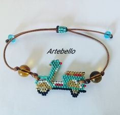 "21 Me gusta, 0 comentarios - ARTEBELLO (@artebeello) en Instagram: ""Pulsera personalizada hecho en miyuki. Luce y sé diferente con Artebello. Has tu pedido a 63566517…"" Pandora Charms, Charmed, Bracelets, Jewelry, Instagram, Personalized Bracelets, Handmade Bracelets, So Done, Jewlery"