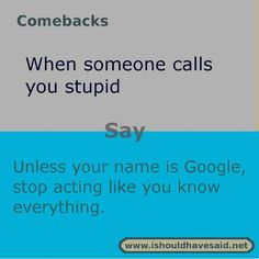 funny jokes insults and comebacks