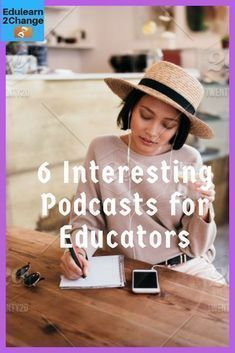 Here are 6 interesting Podcasts for Educators. You will learn and enjoy listenin… Here are 6 interesting podcasts for educators. They enjoy learning and listening to # podcasts # for educators # enjoy and learn Professional Development For Teachers, Online College, Education College, College Tips, Elementary Education, Education Degree, Kids Online, Learn Online, Childhood Education