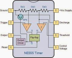 NE555 Timer ~ Electrical Engineering Pics