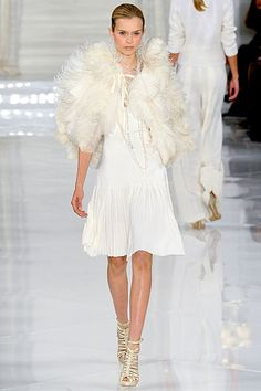 True to his style...Ralph Lauren Spring 2012