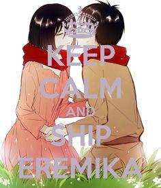 KEEP CALM AND SHIP EREMIKA - KEEP CALM AND CARRY ON Image Generator