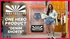 Fashion Videos, Buddha, Denim Shorts, Hero, Jean Shorts