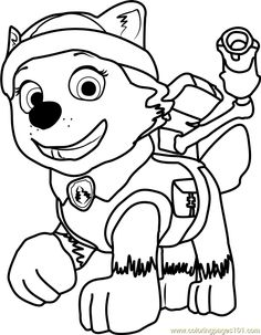294 Best Paw Patrol Coloring Pages Images Coloring Books
