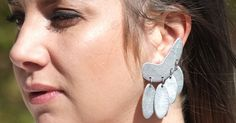 SIlver Earrings | more on www.ladymelbourne.com.au