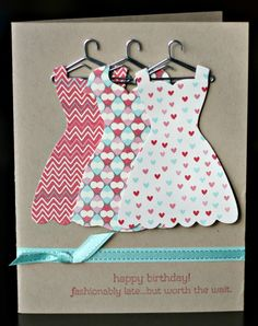 Klompen Stampers (Stampin' Up! Demonstrator Jackie Bolhuis): EASY PEASY Dress Up Card