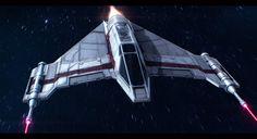 Star Wars Incom T-42 F-Wing by AdamKop.deviantart.com on @DeviantArt