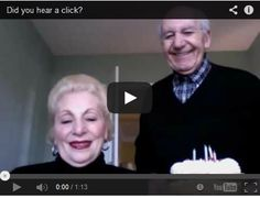 Old Couple Try Taking Still Photo On Mac