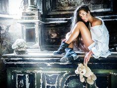 Fotografování pro kalendář s modelkou Lenka Maršálková. Photography for calendar with model Lenka Marsalkova by photographer Daniel Seiner www.danielseiner.com