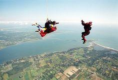 Sky-diving!