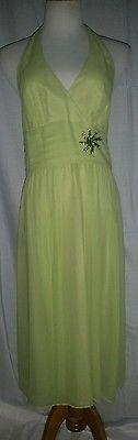 Maggy London Silk Green Dress 12