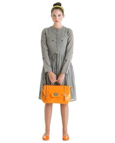 Goody Two Shoes Dress - Grey