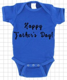 Father's Day is coming up quick! Grab yours quick for the perfect Father's day gift! Excited to share the latest addition to my #etsy shop: Happy Father's Day Baby clothes, Baby Bodysuit SIZE: NEWBORN #clothing #children #bodysuit #customkidsbodysuit #cutekidsclothing #customkidsclothes #custombabyclothes #custombabybodysuit #rt #like #follow #share #fathersdaygifts #fathersdayideas #fathersdaygiftideas https://etsy.me/2IlPCgu