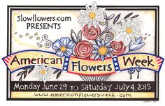 "This week has been declared ""American Flowers Week"". The week is designed to promote and celebrate American flower growers, marketers and florists. Did you know that 80 to of the cut flowers s… July 4th Holiday, Flower Farmer, Happy Independence Day, Minnesota, Beautiful Flowers, Red And White, Floral Design, Presents, Challenges"