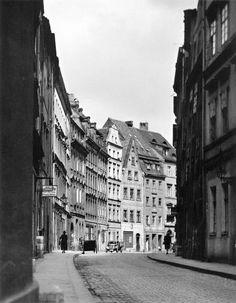 Ulica Złote Koło. Widok od św. Antoniego w stronę Ruskiej Lata 1920-1924