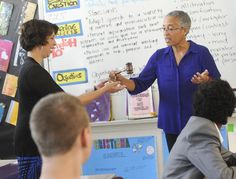 FAIRFIELD — The students in Sylvia Herrera's English-learning class were shy about talking with their special visitor Thursday.  Herrera's class wrote in September to retired Judge LaDoris Cordel...Kendall Barrit has great picture on the bottom of article
