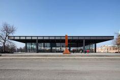 Ludwig Mies van der Rohe - The Neue Nationalgalerie in Berlin