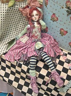 art doll by Valerie Zeitler