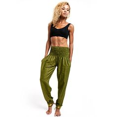 Amazon.com: Limber Stretch Long Dance and Yoga Cotton Harem Pants: Clothing ACTIVE WEAR: Be the envy of everyone at Zumba, Hip Hop, Pilates and Fitness classes at the gym with your cool sweatpants
