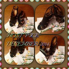 """HP 2014 BLACK COACH NEW YORK ANKLE STARPS COACH BLACK W 7 KNOTTED STRAPS ON EACH SIDE 4 SNAKE SKIN & 3 BLACK WRAP AROUND ANKLE GOLD BUCKLE  BRAND NEW THANK YOU FOR VISITING MY CLOSET  .   HP  """" BACK TO BASICS PARTY """"2014 ❤️❤️❤️❤️❤️❤️❤️ Coach Shoes"""