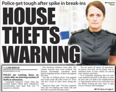 Slamming the door on Johnstone thieves | News | The Gazette