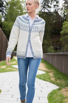 Fair Isle Knitting, Sweaters, Cardigans, Embroidery, Knits, Design, Style, Fashion, Chrochet