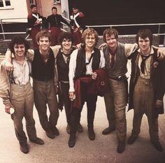 Barricade Boys.  George, Allistair, Fra, Aaron, Killian, and Hugh