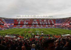Atleti vs Bayern // Tifo // Ida Semifinales Champions
