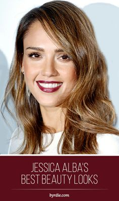 Today we celebrate Jessica Alba's birthday along with her best beauty looks // #beauty #celebritybeauty