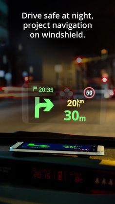 Keďže väčšinu času za volantom trávim prevažne v noci, rozhodol som sa pre stiahnutie najlepšej slovenskej navigácie -Sygic https://play.google.com/store/apps/details?id=com.sygic.aura