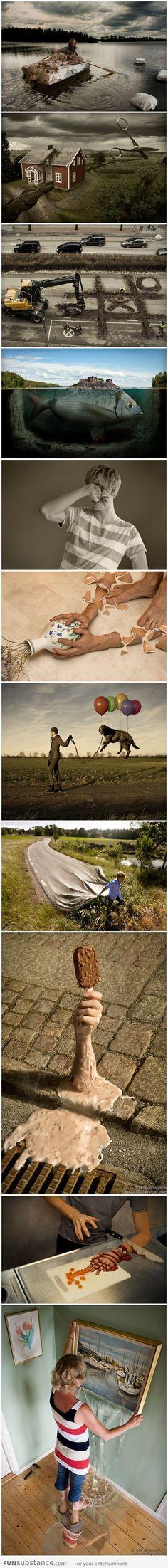 Amazing surrealistic digital art