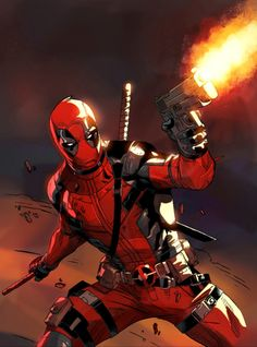 Deadpool Marvel X, Marvel Heroes, Captain Marvel, Deadpool Fan Art, Deadpool Stuff, Deadpool Movie, Comic Books Art, Comic Art, Comic Movies